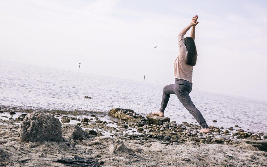 Offene Yogastunden im Sommer